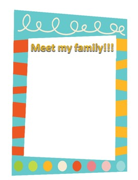 All About Me Booklet- Building Community
