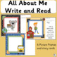 All About Me Booklet: Welcome back to school! (SASSOON)