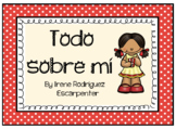All About Me Booklet in Spanish/Todo sobre mí en Español. Back to School!