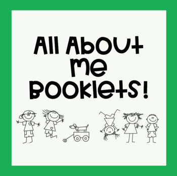 All About Me Booklets (Perfect for Back to School!)