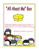 """""""All About Me"""" Box"""