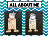 All About Me - Boy and Girl Posters - AWESOME Classroom Display