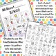 All About Me Back to School BINGO: 2 Individualized Activities