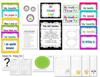 All About Me Bulletin Board Set and More