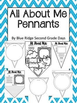 All About Me Bundle - 6 Different Pennants