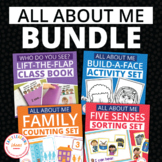 All About Me Bundle of Activities for Preschool and Pre-K