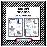 All About Me Bunny Theme