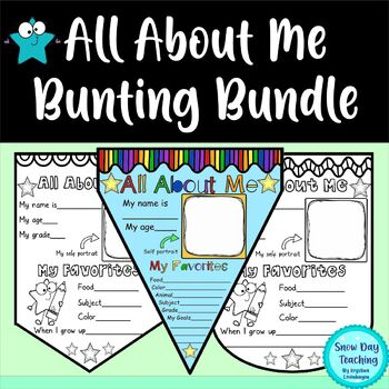 All About Me Bunting Set