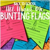All About Me Bunting Flags