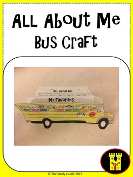 All About Me Bus Craft