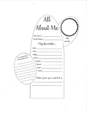 All About Me Cactus Graphic Organizer
