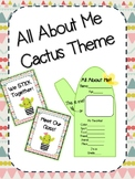 All About Me - Cactus Theme