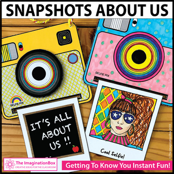 All About Me Camera Snapshots Art Activity