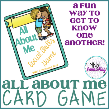 All About Me Card Game