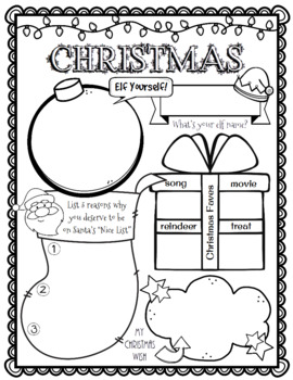 All About Me Christmas Edition