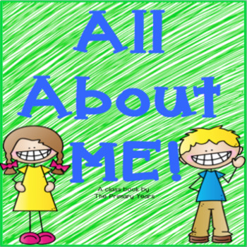 All About Me Class Book!