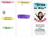 Back to School Night Brochure, Meet the Teacher, Open House