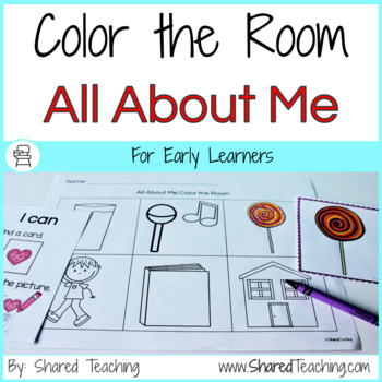 All About Me Color the Room