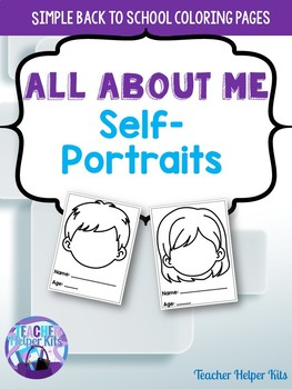 All About Me- Coloring