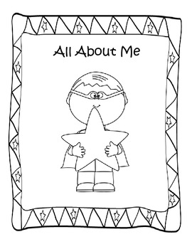 All About Me Coloring Booklet