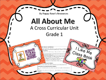 All About Me - Complete Cross-Curricular Unit - Saskatchewan