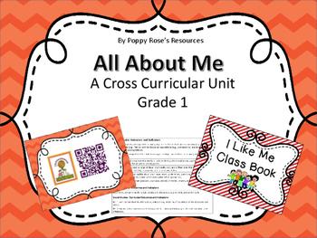 All About Me - Complete Cross-Curricular Unit - Saskatchewan