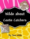 All About Me Cootie Catcher {Fortune Teller}