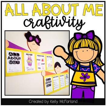 All About Me {K-2 Craft}