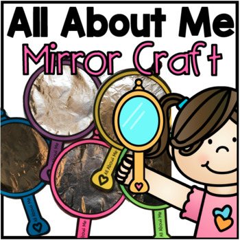 All About Me Craft/ Book
