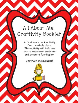 All About Me Craftivity Booklet