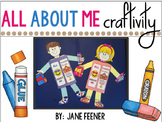 All About Me Craftivity and Writing Prompt