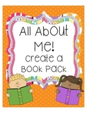 All About Me! Create a Book Pack