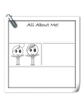 All About Me Creative Writing Back to School Packet