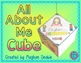 All About Me Cube Poster