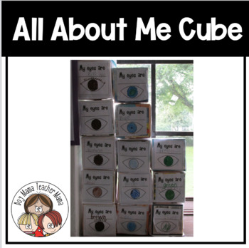 All About Me Cube and Data Collection Papers