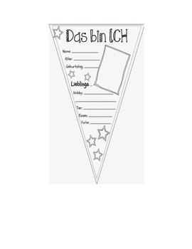 All About Me-Das bin ich-Classroom Banner