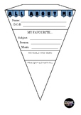 All About Me Day 1 Activity / Printable Bunting