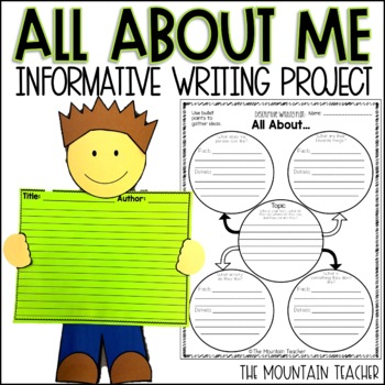 All About Me - Descriptive/Informative Writing Project