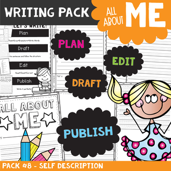 All About Me Descriptive Writing Packet