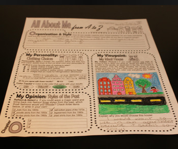 """Writing Journal Kit with Secret Detective """"Guess Who"""" Reading Game (O-P)"""