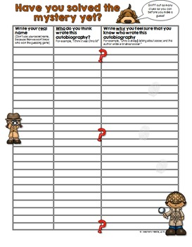 """Writing Journal Kit with Secret Detective """"Guess Who"""" Reading Game (W-X)"""