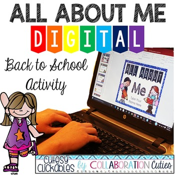 All About Me Digital Back to School Activity {Student Powe