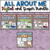 All About Me Bundle {Digital AND Paper}