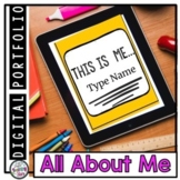 All About Me Digital Resource