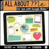 All About Me Digital Writing Activity #DistanceLearningTpT