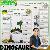 Dinosaurs All About Me Poster