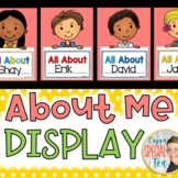 All About Me Display Board
