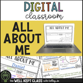 All About Me | Distance Learning