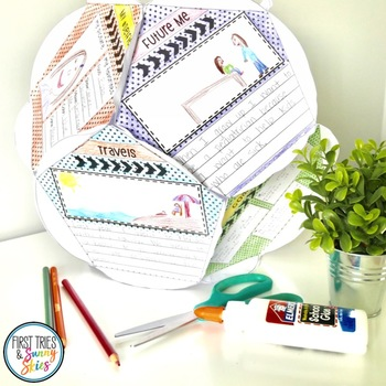 All About Me Dodecahedron Project - Back to School - Get To Know You Activity