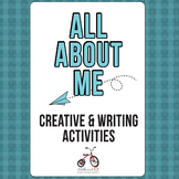 All About Me Drawing & Writing Prompts